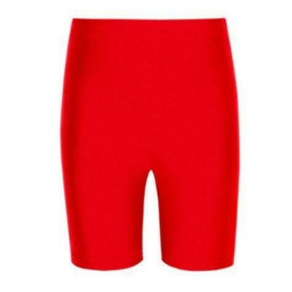 Red Cycle Shorts